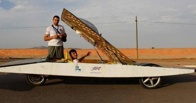 Sahibinden satılık güneş enerjili otomobil