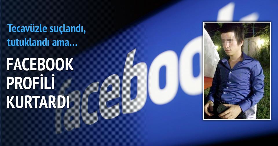 Facebook profili nedeniyle tahliye edildi
