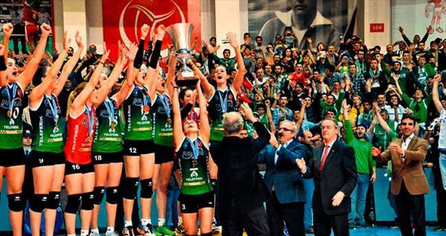 Bursa'nın Altın Kızları avrupa şampiyonu