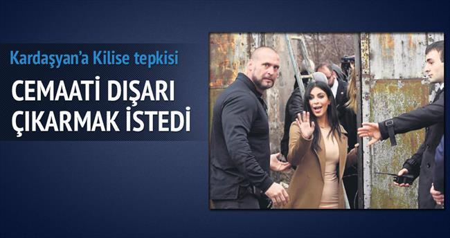 Kardaşyan'a 'Kilisede VIP olmaz' tepkisi