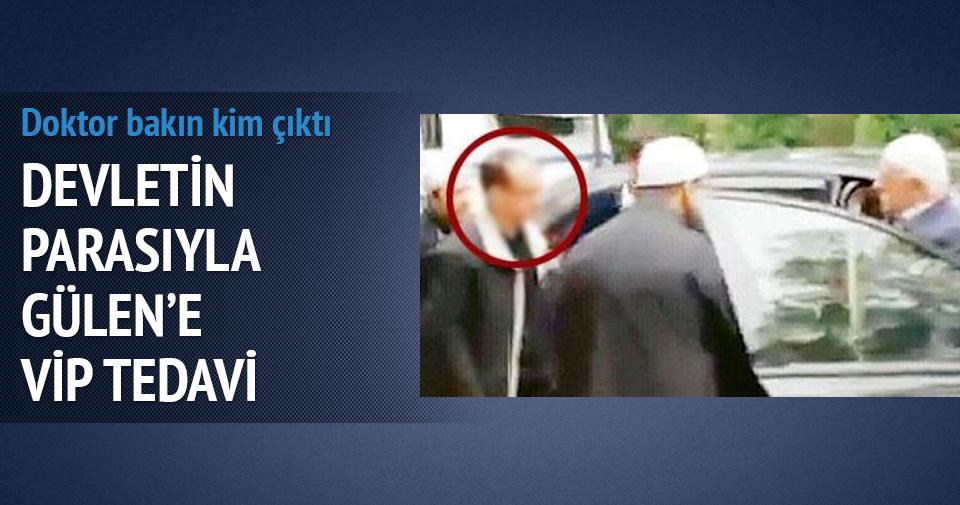Devletin parasıyla Gülen'e VIP tedavi