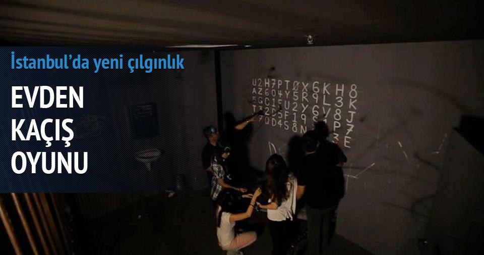 İstanbul'da yeni çılgınlık evden kaçış oyunu