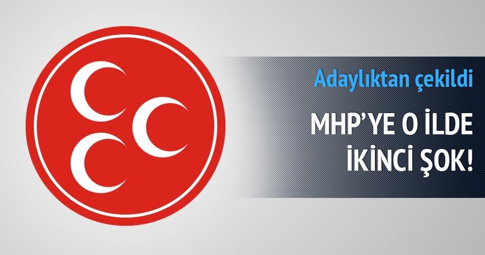 MHP'ye o ilde ikinci şok