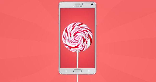 Samsung Galaxy Note 4 için Android 5.0 Lollipop yayınlandı