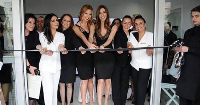 Şenay Akay güzellik merkezi açtı