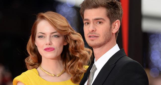 Emma Stone ile Andrew Garfield ayrıldı