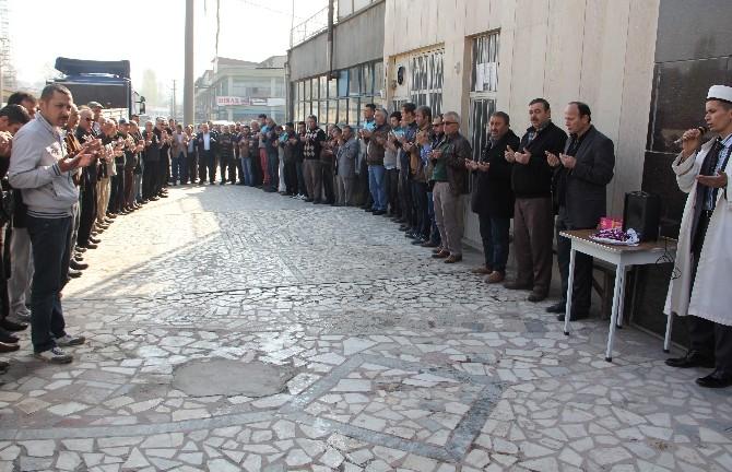 Sedat Namal, Esnaf Duasına Katıldı