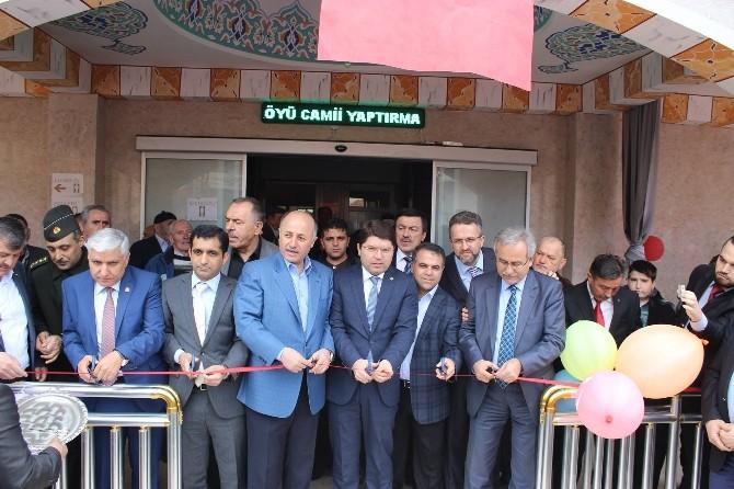 Zafer Köyü Camisi Dualarla İbadete Açıldı