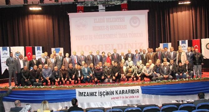 Elazığ Belediyesi'nde Toplu İş Sözleşmesi Sevinci