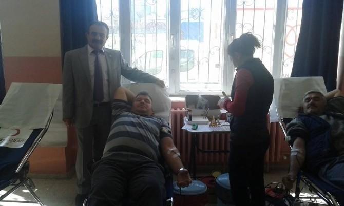 Sakintepe'de Kan Bağışı Kampanyası