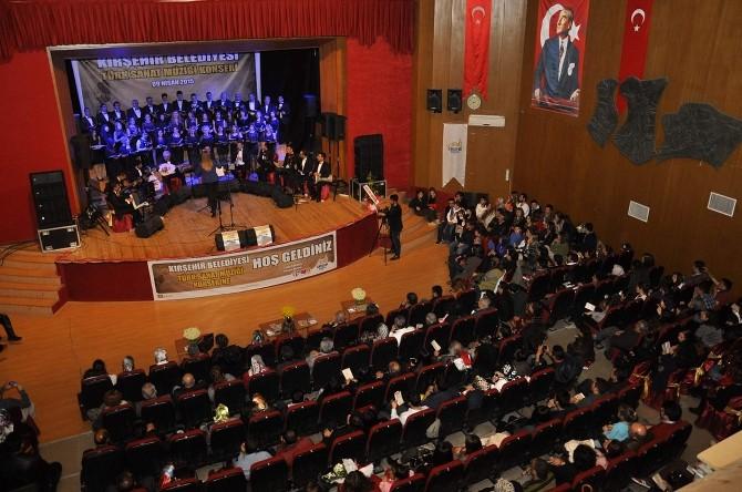 Belediye'den Türk Sanat Müziği Sevenleri Sevindirdi
