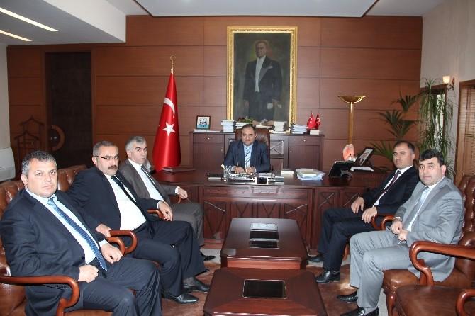 GMİS Yeni Yönetim'den Zonguldak Valisi'ne Ziyaret