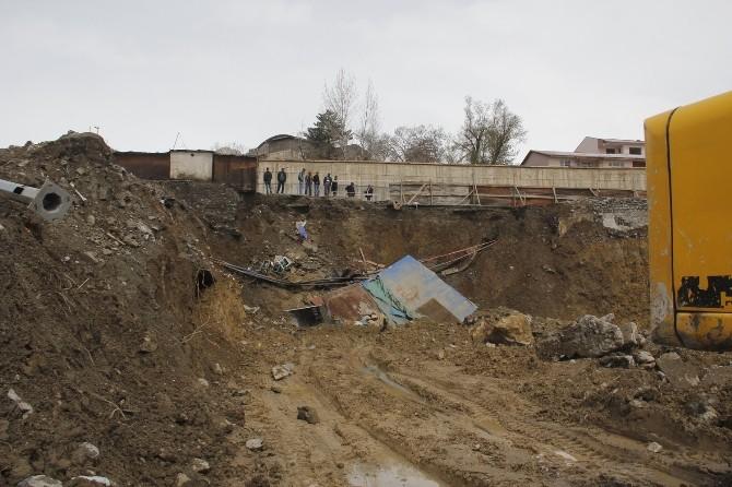 Hakkari'de Toprak Kayması
