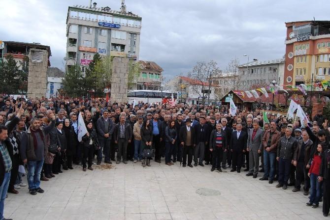 HDP, Tunceli Bürosunun Açılışını Gerçekleştirdi