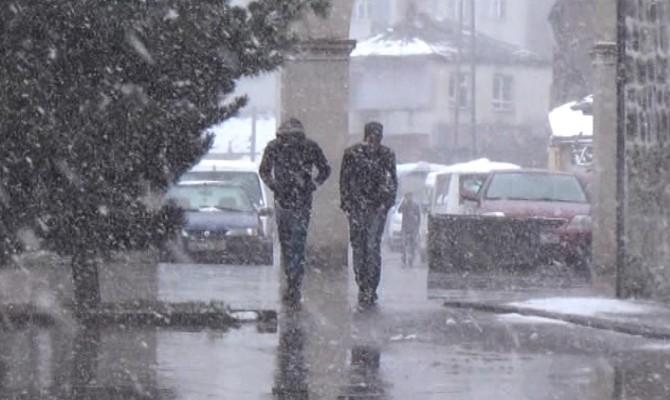 Kars Baharda Kışı Yaşıyor