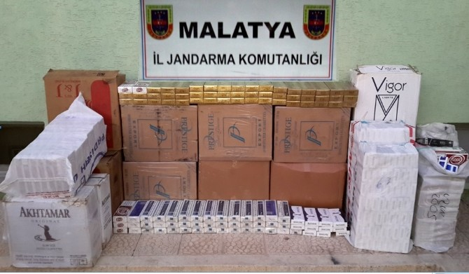 Malatya'da 66 Bin Paket Kaçak Sigara Ele Geçirildi