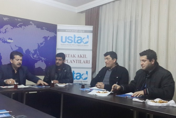 Ustad'dan Ortak Akıl Toplantısı