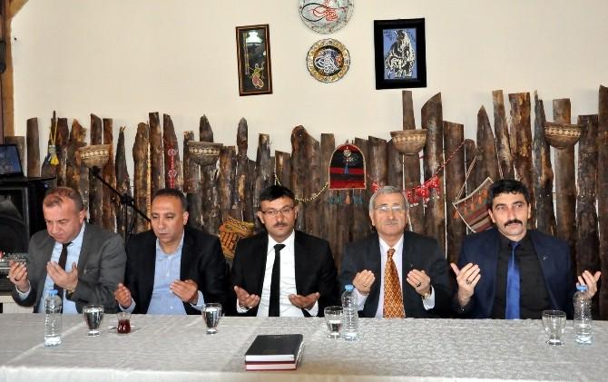 MHP Uşak Adayları Basınla Bir Araya Geldi