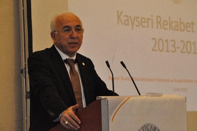 Kayseri'de Bin Kişiye 148 Araç Düşüyor