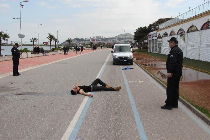 Sokak Ortasında Darp Edilerek Ağır Yaralandı