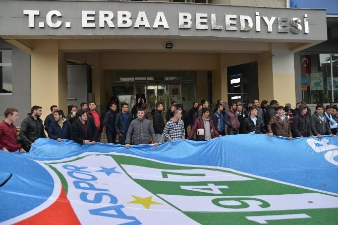 Erbaa'da Bölgesel Amatör Lig Sevinci