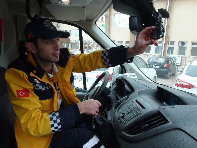Yozgat'ta Ambulansa Yol Vermeyen Sürücülere Ceza Yazılacak