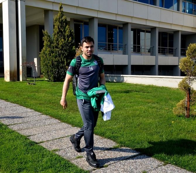 Bursaspor Yarı Final Bileti İçin Ankara'ya Gitti