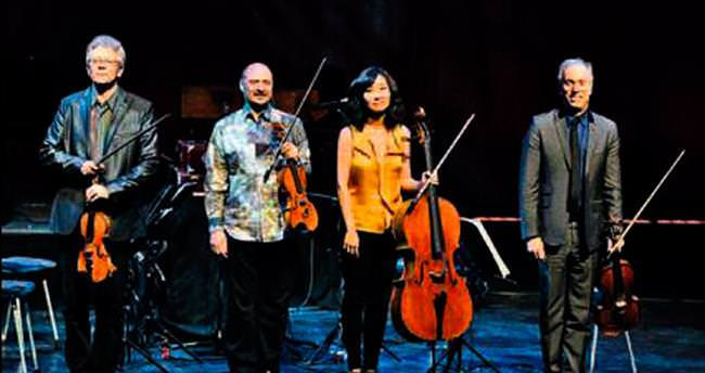 Kronos müzik grubu ilk kez Ankara'da