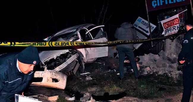 Başkentte trafik kazaları: 2 ölü, 2 yaralı
