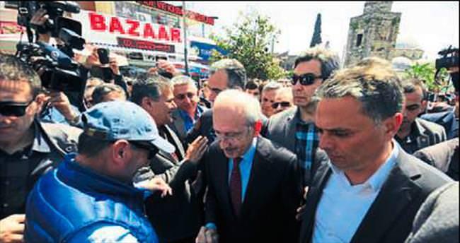 Kılıçdaroğlu, Antalya'ya geldi