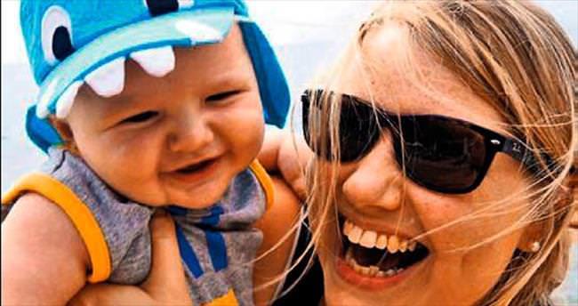 Kanser ve menopozun ardından anne oldu