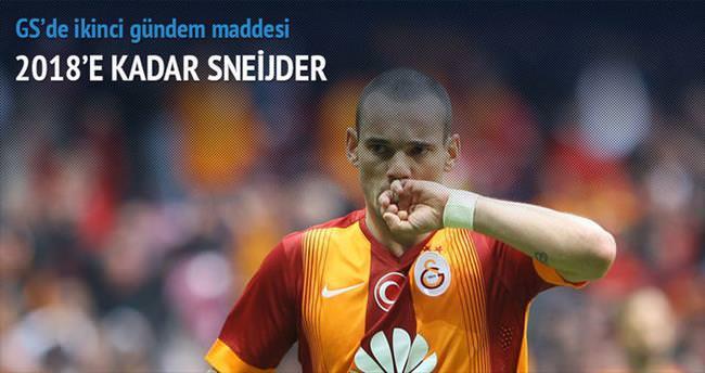 2018'e kadar Sneijder