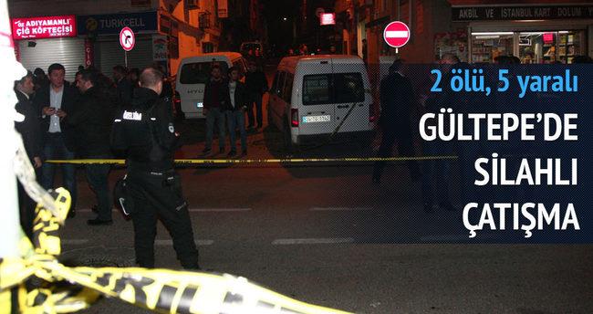 Gültepe'de silahlı çatışma: 2 ölü, 5 yaralı