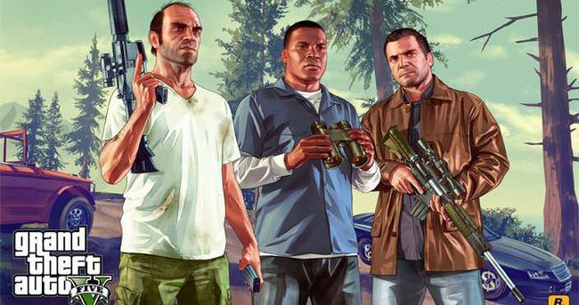 GTA 5 satışta