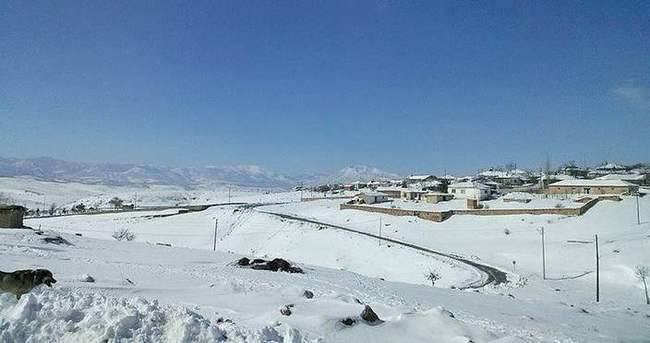Yağan kar çiftçileri vurdu