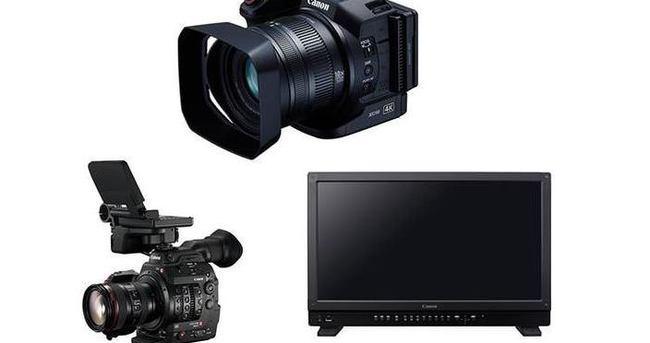 Canon 4K destekli ürünlerini tanıttı