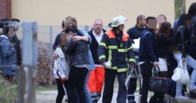 Almanya'da lisede şok cinayet
