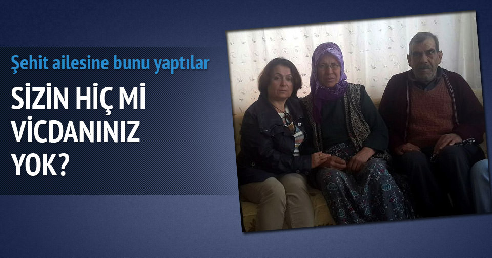 Şehit ailesi dolandırıcıların kurbanı oldu
