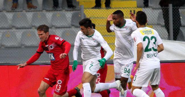 Gençlerbirliği - Bursaspor maçı özeti ve golleri izle — Video