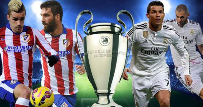 Atletico Madrid Real Madrid!