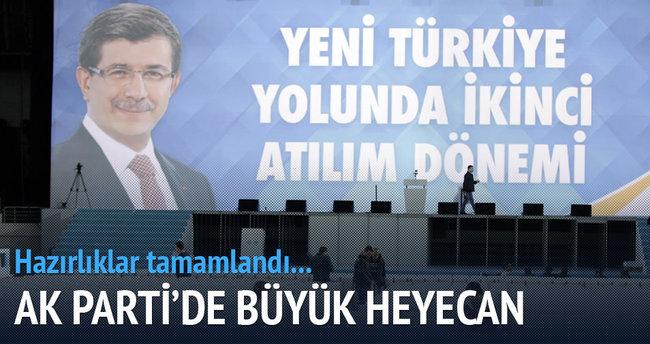 AK Parti'de büyük heyecan