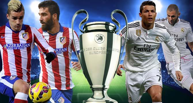 Altetico Madrid — Real Madrid maçı özeti ve golleri (GENİŞ-ÖZET)