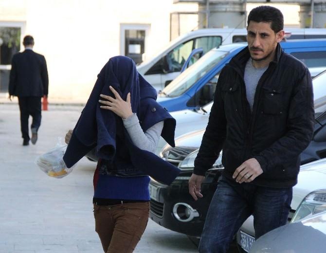 Samsun'da 4 Evden Hırsızlık Şüphelisi Kadın Serbest