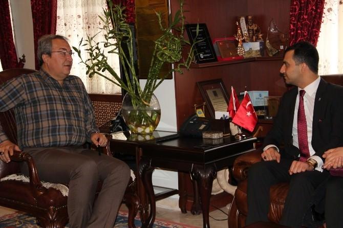 Tügva Nevşehir Yönetimi, Belediye Başkanı Ünver'i Ziyaret Etti