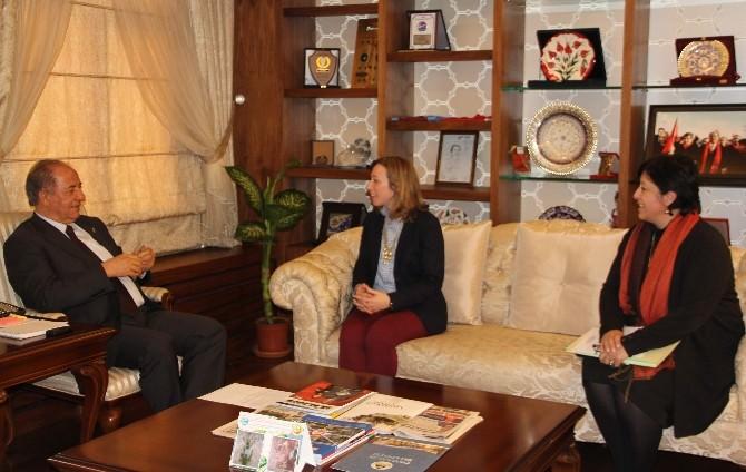 ABD'li Diplomattan Çorum'da Bir Dizi Ziyaret