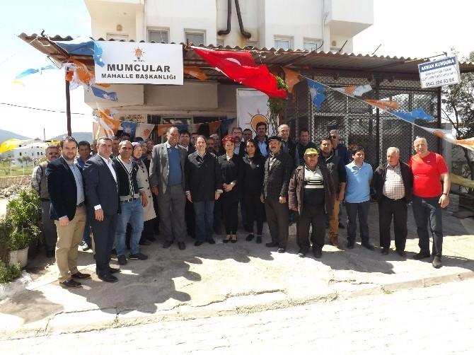 AK Parti Bodrum İlçe Teşkilatı 7 Haziran Seçimleri İçin Start Verdi
