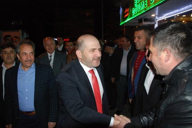 Baloğlu'ndan Akşehir Teşkilatına Ziyaret