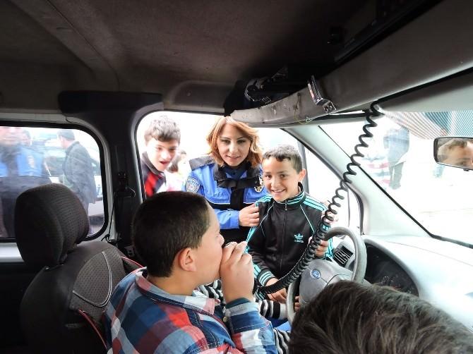 Aksaray'da Öğrencilere Polis Eğitimi
