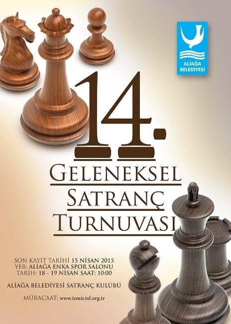 Aliağa 14. Geleneksel Satranç Turnuvası Başlıyor