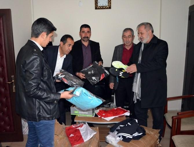 Bitlis Valiliği'nden Adilcevaz Belediyespor Kulübü'ne Destek